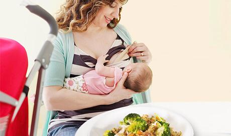 διατροφή θηλάζουσας μαμάς